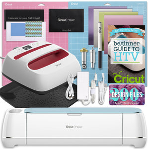 Cricut Blue Maker and EasyPress Bundle - Swing Design