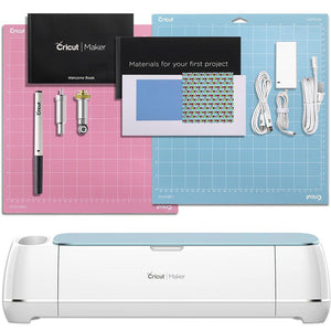 Cricut Blue Maker Deluxe Vinyl Bundle - Swing Design