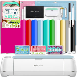 Cricut Blue Maker Vinyl Bundle - Swing Design