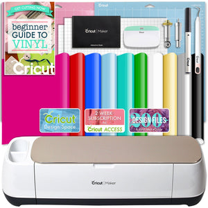 Cricut Champagne Maker Vinyl Bundle Cricut Bundle Cricut