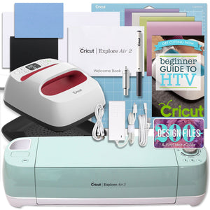 Cricut Mint Explore Air 2 and EasyPress Bundle - Swing Design
