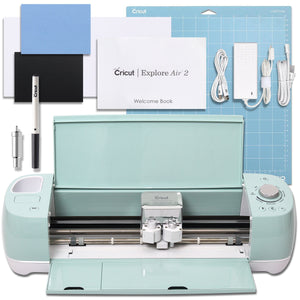 Cricut Mint Explore Air 2 Vinyl Bundle With 26 Sheets Of Vinyl and More! - Swing Design