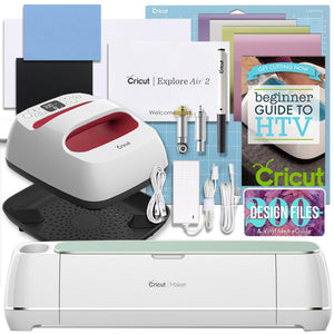 "Cricut Mint Maker and EasyPress Bundle Cricut Bundle Cricut 6"" x 7"" EasyPress 2"