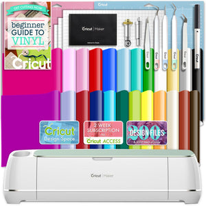 Cricut Mint Maker Deluxe Vinyl Bundle - Swing Design