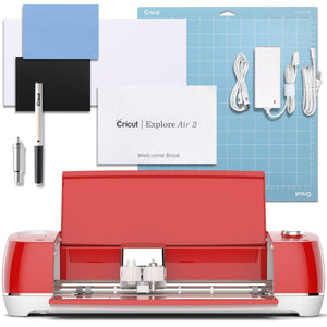 Cricut Red Explore Air 2 Machine Cricut Bundle Cricut
