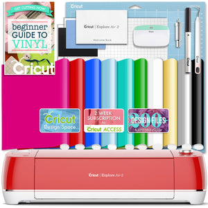 Cricut Red Explore Air 2 Vinyl Bundle Cricut Bundle Cricut