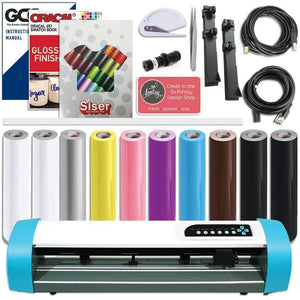 "GCC AR-24"" Craft Vinyl Cutter Creative Bundle - Swing Design"