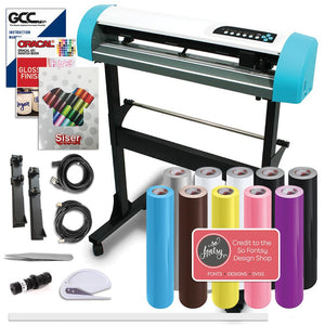 "GCC AR-24"" Craft Vinyl Cutter Creative Bundle With Stand - Swing Design"