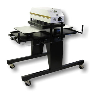 "Geo Knight 394-MTS Twin Shuttle heat Press - 20"" x 25"" - Swing Design"