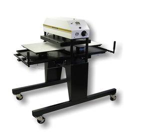 "Geo Knight 394-TS Twin Shuttle Heat Press - 16"" x 20"" - Swing Design"