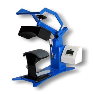 "Geo Knight DK7 Digital Cap Press - 4"" x 7"" - Swing Design"