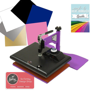 "Geo Knight JB12 JetPress Craft Press Bundle - 9"" x 12"" Heat Press GEO Knight"