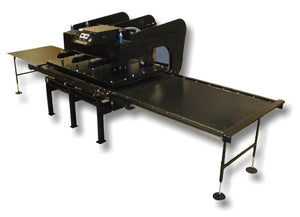 "Geo Knight Maxi Air Heat Press - 44"" x 64"" Heat Press GEO Knight MAXI-4464AW Air Top & Bottom Heat TWIN"