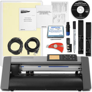 Graphtec CE6000-40 PLUS - 15 Inch Desktop Vinyl Cutter & Plotter with with BONUS Software Graphtec Bundle Graphtec
