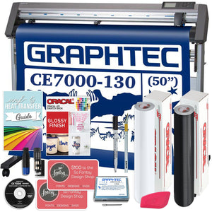 "Graphtec CE7000-130 PLUS - 50"" Professional Bundle, BONUS Software & Warranty Graphtec Bundle Graphtec"