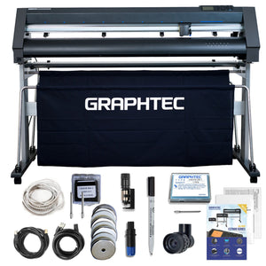 "Graphtec CE7000-130AKZ PLUS - 50"" Vinyl Cutter w/ BONUS Software Graphtec Bundle Graphtec"