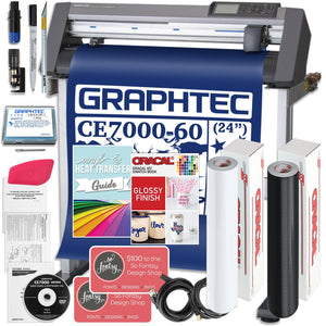 "Graphtec CE7000-60 PLUS - 24"" Professional Bundle, BONUS Software & Warranty Graphtec Bundle Graphtec"