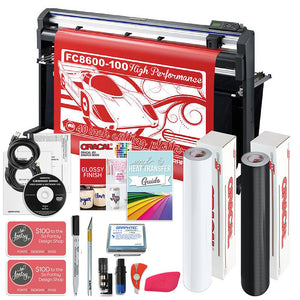 "Graphtec FC8600-100 42"" Vinyl Cutter with BONUS Software, Starter Bundle, & 3 Year Warranty - Swing Design"