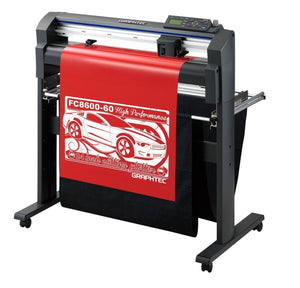 "Graphtec FC8600-60 24"" Vinyl Cutter with BONUS Software, Starter Bundle & 3 Year Warranty - Swing Design"