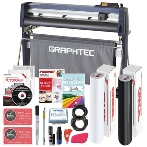 "Graphtec FC9000-100 42"" Cutter w/ Bundle, BONUS Software & 3 Year Warranty - Swing Design"