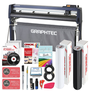 "Graphtec FC9000-140 54"" Vinyl Cutter w/ BONUS Software, Bundle & 3 Year Warranty - Swing Design"