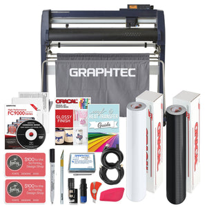 "Graphtec FC9000-75 30"" Vinyl Cutter w/ BONUS Software, Bundle & 3 Year Warranty - Swing Design"