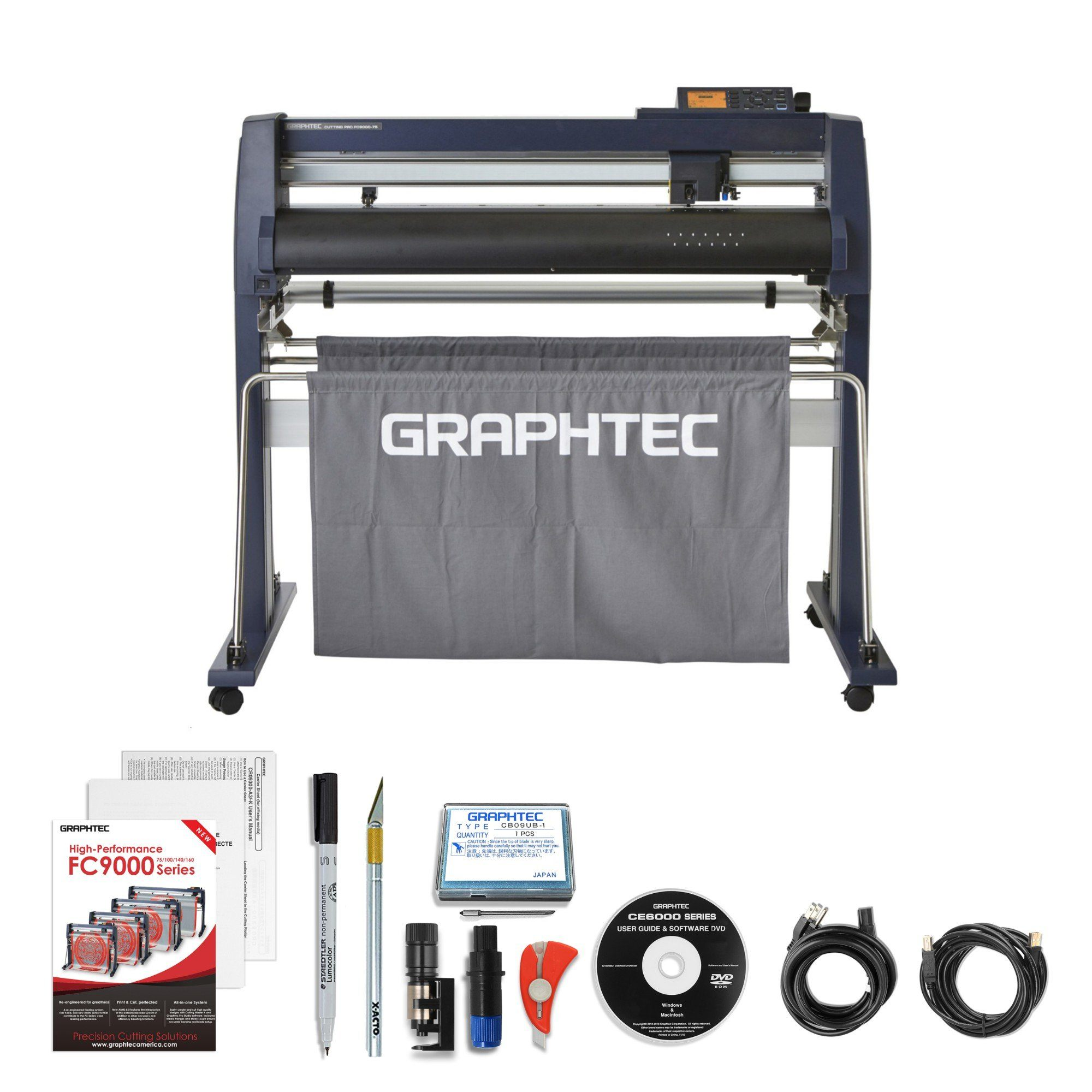 Graphtec FC9000 Series Pro Cutting Plotter Review