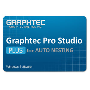Graphtec Pro Studio Plus for Auto Nesting License - Instant Code - Swing Design