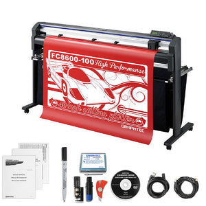 "Graphtec Professional FC8600-100 42"" Vinyl Cutter with BONUS Software & 3 Year Warranty - Swing Design"