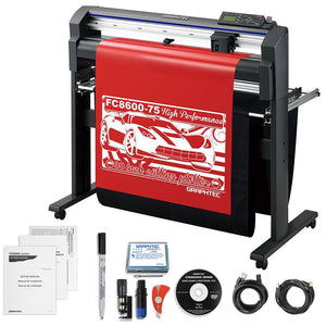 "Graphtec Professional FC8600-75 30"" Vinyl Cutter with BONUS Software & 3 Year Warranty - Swing Design"
