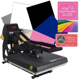 "Hotronix MAXX 11""x15"" Clam Heat Press Bundle - Swing Design"