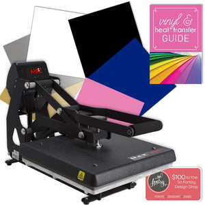 "Hotronix MAXX 15""x15"" Clam Heat Press Bundle - Swing Design"