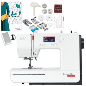 Open Box Bernette B37 Computerized Sewing Machine Brother Sewing Bundle Bernette