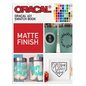 Oracal 631 Matte Swatch Book | Color Chart - Swing Design