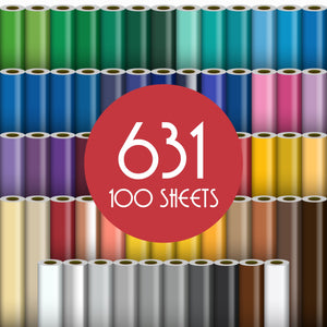 "Oracal 631 Matte Vinyl - 100 Sheets - Build a Bundle, 12"" x 12"" Oracal Vinyl Oracal"