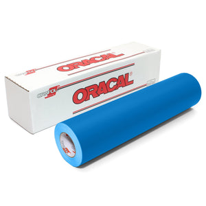 "Oracal 631 Matte Vinyl 24"" x 30 FT Roll - Azure Blue Oracal Vinyl Oracal"