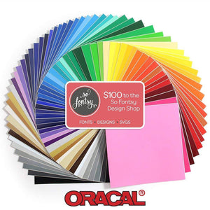 "Oracal 631 Matte Vinyl Bundle 12"" x 12"" - 68 All Colors - Swing Design"