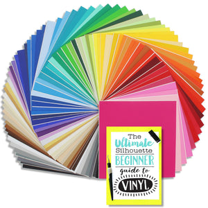 "Oracal 631 Matte Vinyl Bundle 12"" x 12"" - 68 Assorted Colors - Swing Design"