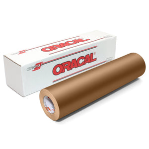 Oracal 631 Matte Vinyl Rolls - Metallic Copper - Swing Design