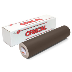 "Oracal 641 Matte Vinyl 12"" x 6 ft Roll - Brown Oracal Vinyl Oracal"