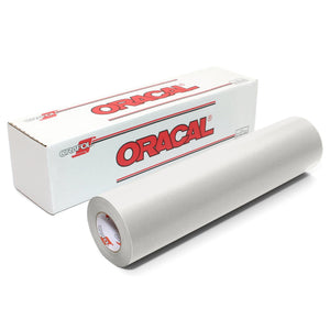 "Oracal 641 Matte Vinyl 12"" x 6 ft Roll - Transparent Oracal Vinyl Oracal"