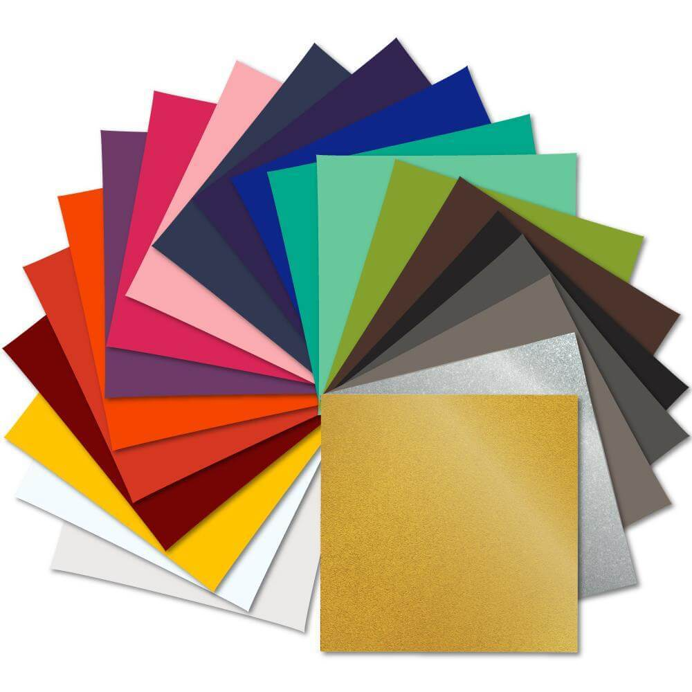 Oracal 641 Glossy Vinyl 12 X 12 21 Assorted Colors Every Color Swing Design