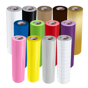 Oracal 651 Glossy Vinyl - 12 Rolls - Build a Bundle, 6ft Rolls - Swing Design