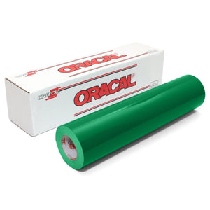 "Oracal 651 Glossy Vinyl 24"" x 150 FT Roll - Grass Green Oracal Vinyl Oracal"