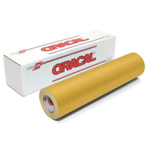 "Oracal 651 Glossy Vinyl 24"" x 150 FT Roll - Imitation Gold Oracal Vinyl Oracal"
