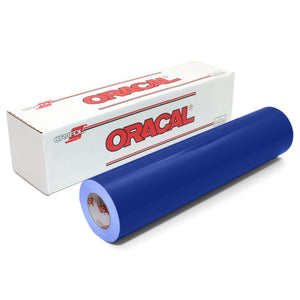 "Oracal 651 Glossy Vinyl 24"" x 150 FT Roll - King Blue Oracal Vinyl Oracal"