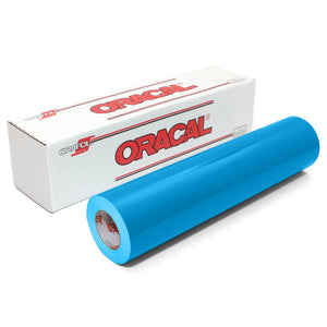 "Oracal 651 Glossy Vinyl 24"" x 150 FT Roll - Light Blue Oracal Vinyl Oracal"