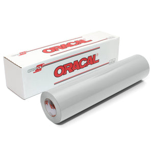 "Oracal 651 Glossy Vinyl 24"" x 150 FT Roll - Light Grey Oracal Vinyl Oracal"