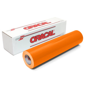 "Oracal 651 Glossy Vinyl 24"" x 150 FT Roll - Light Orange Oracal Vinyl Oracal"