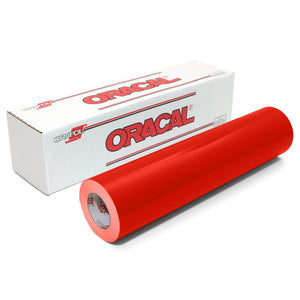 "Oracal 651 Glossy Vinyl 24"" x 150 FT Roll - Light Red Oracal Vinyl Oracal"